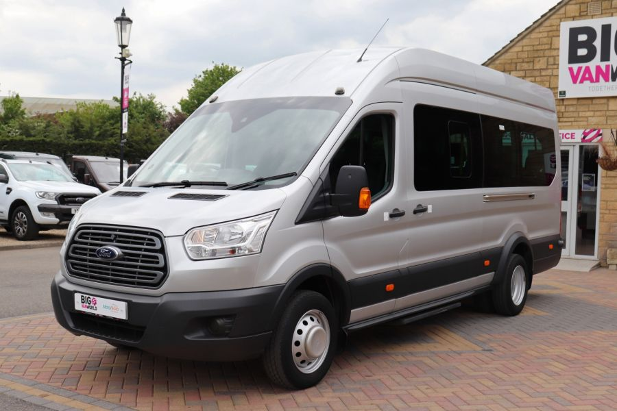 FORD TRANSIT 460 TDCI 155 L4H3 17 SEAT BUS HIGH ROOF DRW RWD - 11322 - 12