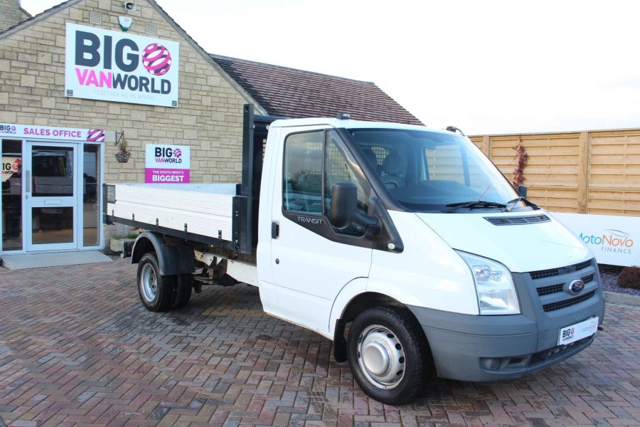 FORD TRANSIT 350 TDCI 100 MWB 'ONE STOP' ALLOY TIPPER DRW RWD - 6726 - 11