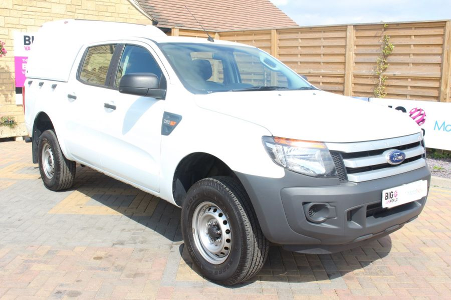FORD RANGER TDCI 130 XL 4X4 DOUBLE CAB WITH TRUCKMAN TOP - 8119 - 1