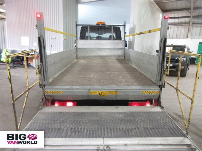 MERCEDES SPRINTER 313 CDI 129 LWB ALLOY DROPSIDE WITH TAIL LIFT - 8886 - 15
