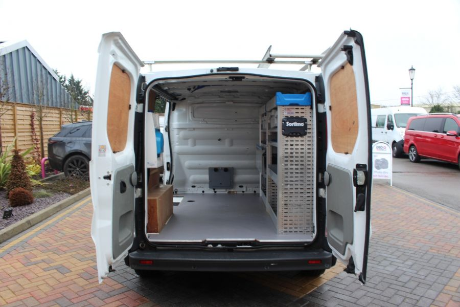 RENAULT TRAFIC SL27 DCI 115 L1 H1 SWB LOW ROOF - 7062 - 11