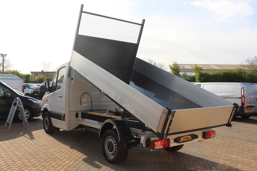 MERCEDES SPRINTER 313 CDI MWB SINGLE CAB ALLOY TIPPER - 5584 - 5