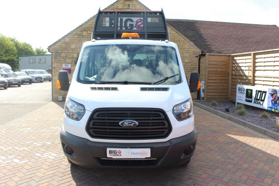 FORD TRANSIT 350 TDCI 130 L3 LWB 7 SEAT DOUBLE CAB 'ONE STOP' ALLOY TIPPER DRW RWD - 7634 - 8