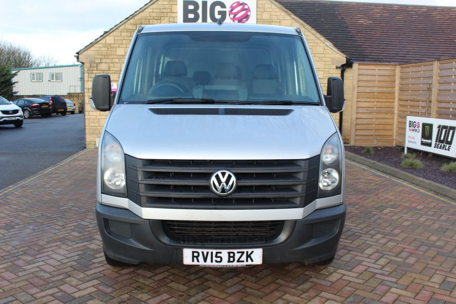 VOLKSWAGEN CRAFTER CR35 TDI 109 LWB 7 SEAT DOUBLE CAB ALLOY DROPSIDE - 9019 - 9