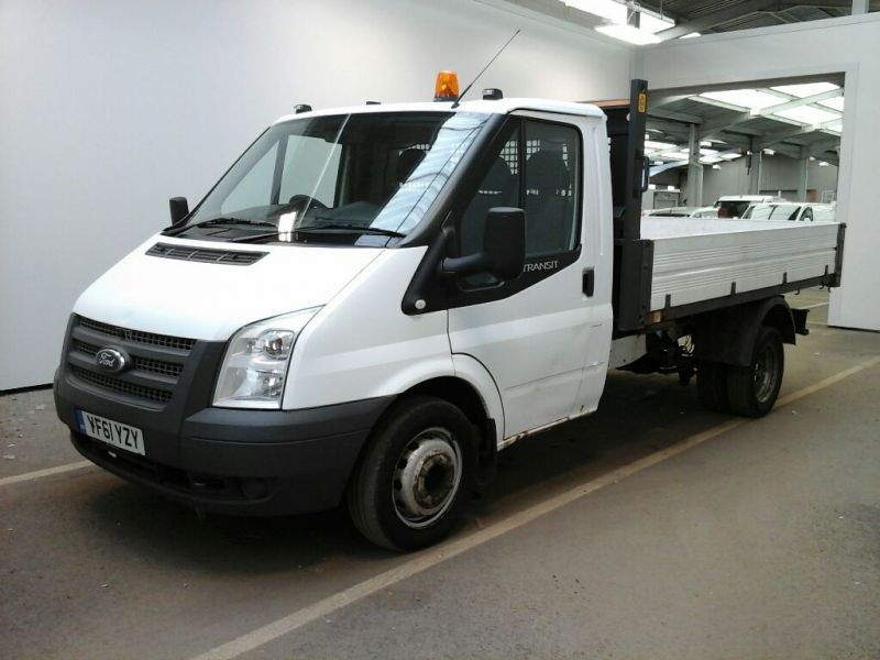 FORD TRANSIT 350 TDCI 100 MWB SINGLE CAB 'ONE STOP' ALLOY TIPPER DRW RWD - 9850 - 1