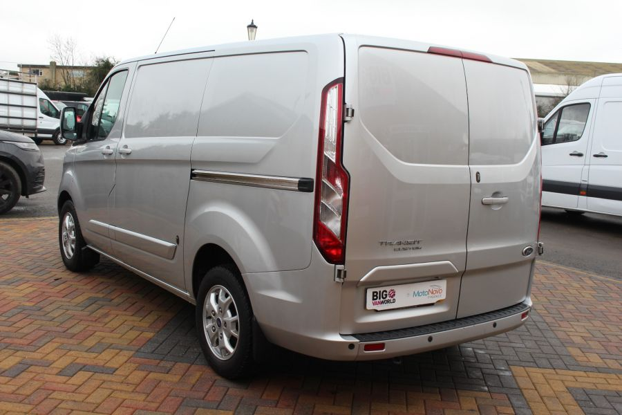 FORD TRANSIT CUSTOM 270 TDCI 125 L1 H1 LIMITED SWB LOW ROOF FWD - 7142 - 7