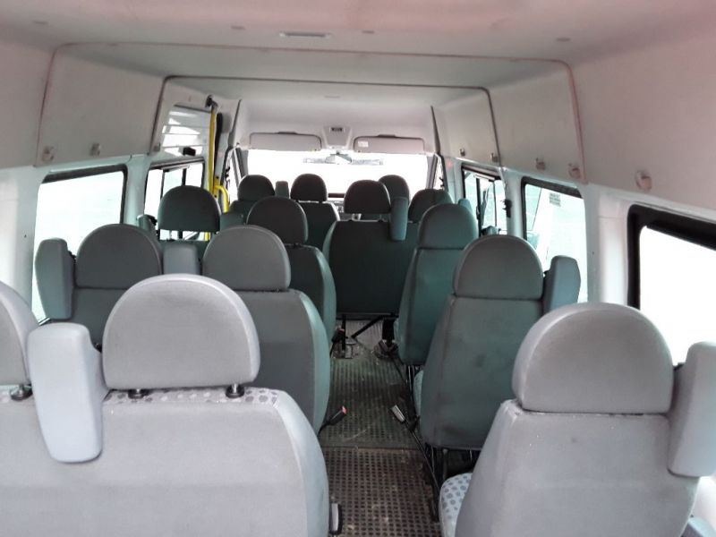 FORD TRANSIT 430 TDCI 135 EL LWB 17 SEAT BUS MEDIUM ROOF DRW RWD - 9424 - 6