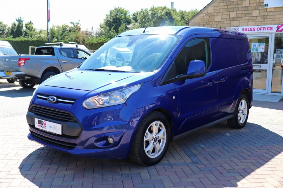 FORD TRANSIT CONNECT 200 TDCI 120 L1H1 LIMITED POWERSHIFT SWB LOW ROOF - 10617 - 10
