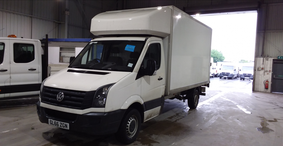 VOLKSWAGEN CRAFTER CR35 TDI 136 STARTLINE LWB 'ONE STOP' LUTON WITH TAIL LIFT - 10847 - 8