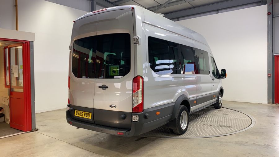 FORD TRANSIT 460 TDCI 155 L4H3 TREND 17 SEAT BUS HIGH ROOF DRW RWD - 11312 - 3