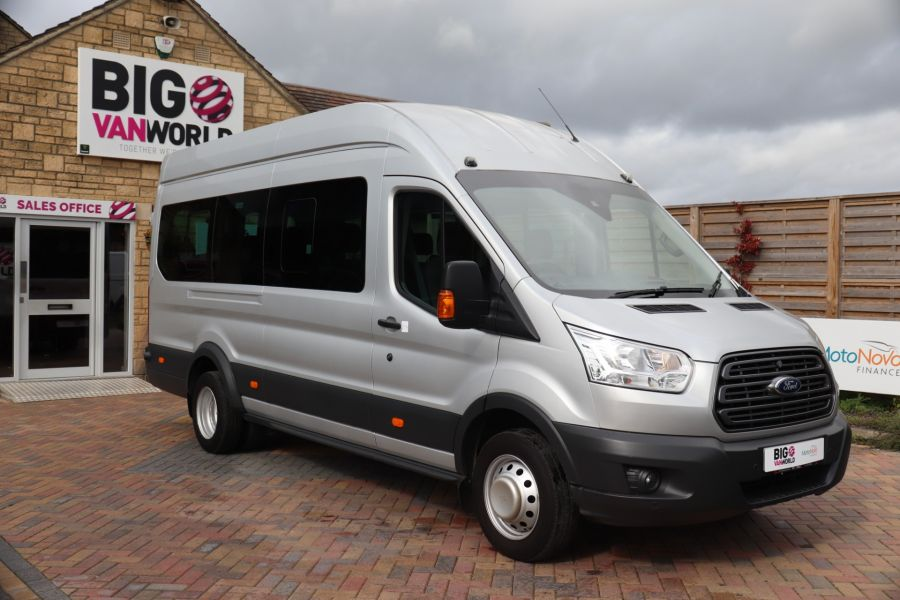 FORD TRANSIT 460 TDCI 155 L4H3 TREND 17 SEAT BUS HIGH ROOF DRW RWD - 9897 - 2