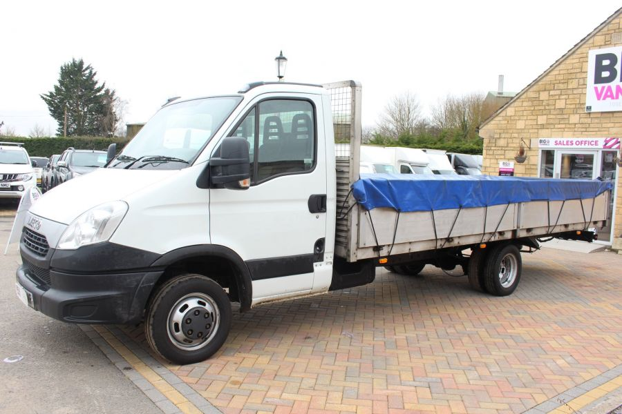 IVECO DAILY 35C13 4100 WB XLWB 20FT ALLOY DROPSIDE - 7302 - 8