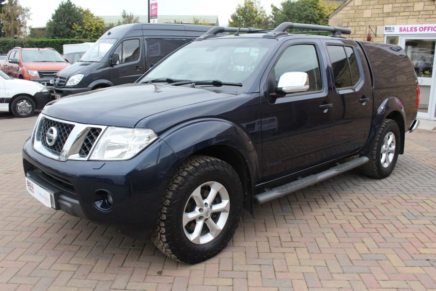 NISSAN NAVARA DCI 190 TEKNA CONNECT 4X4 DOUBLE CAB WITH TRUCKMAN TOP - 6786 - 8