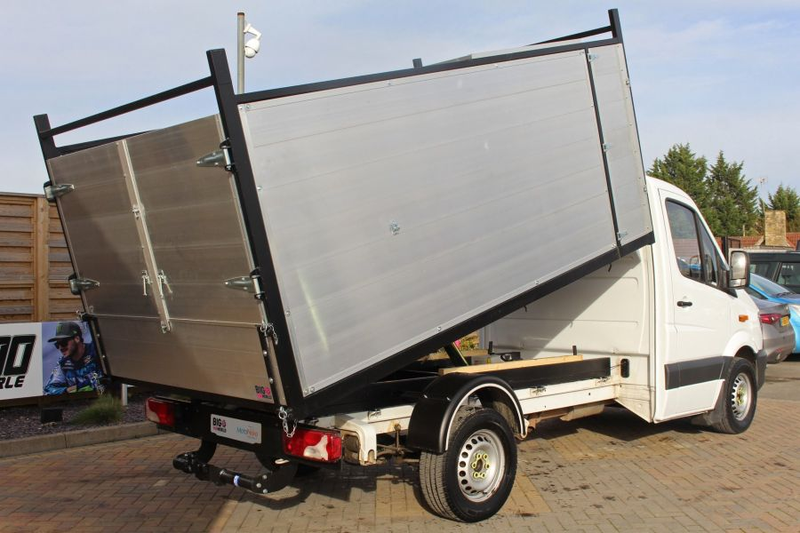 MERCEDES SPRINTER 313 CDI 129 MWB SINGLE CAB NEW BUILD ARBORIST ALLOY TIPPER - 10501 - 5