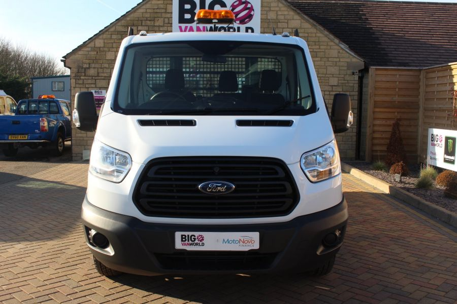 FORD TRANSIT 350 TDCI 125 SINGLE CAB 'ONE STOP' ALLOY TIPPER DRW - 7213 - 17