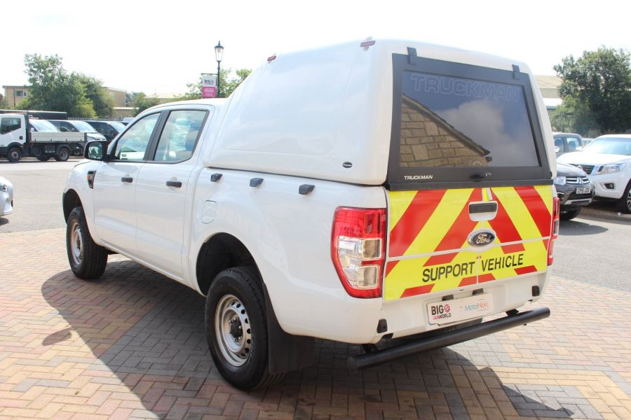 FORD RANGER TDCI 130 XL 4X4 DOUBLE CAB WITH TRUCKMAN TOP - 8119 - 7