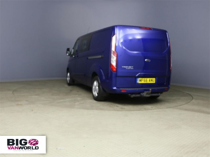 FORD TRANSIT CUSTOM 310 TDCI 170 L2H1 LIMITED DOUBLE CAB 6 SEAT CREW VAN LWB LOW ROOF - 10114 - 4