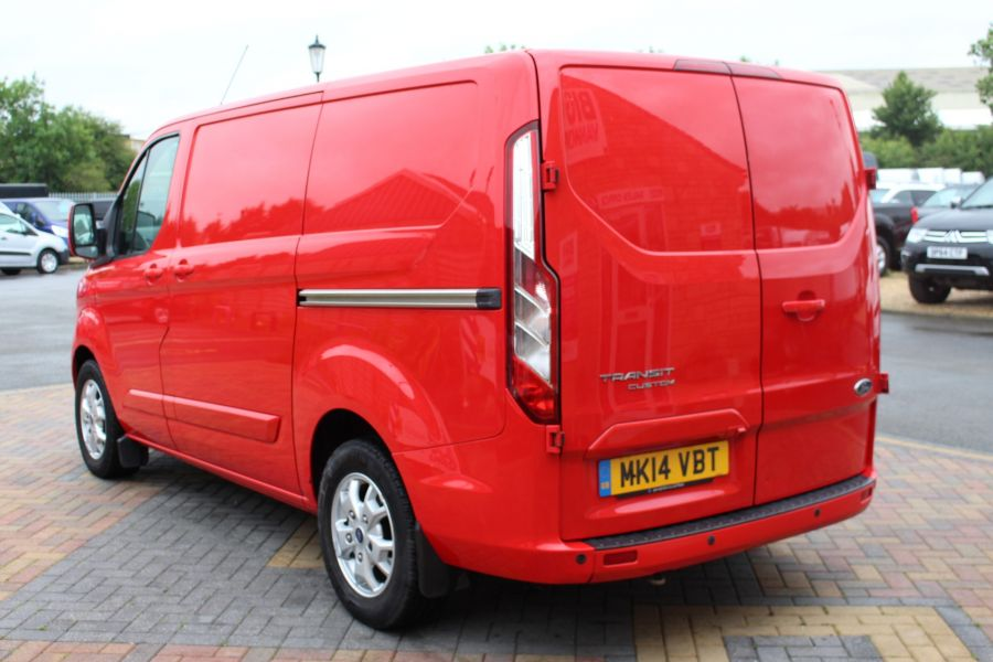 FORD TRANSIT CUSTOM 290 TDCI 125 L1 H1 LIMITED SWB LOW ROOF FWD - 9268 - 7