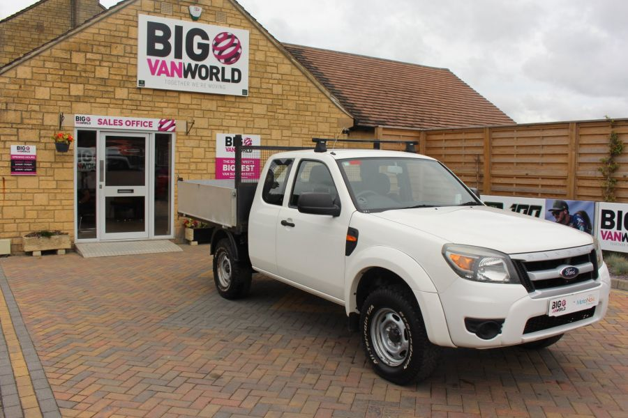 FORD RANGER XL 4X4 TDCI SUPER CAB ALLOY TIPPER - 6057 - 12