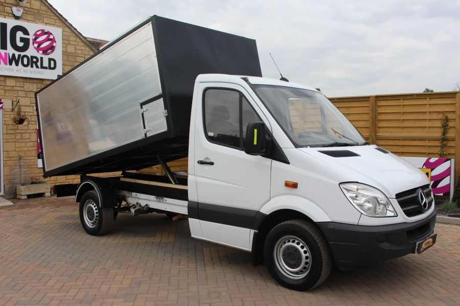 MERCEDES SPRINTER 313 CDI MWB NEW ALLOY ARBORIST TIPPER - 6031 - 3