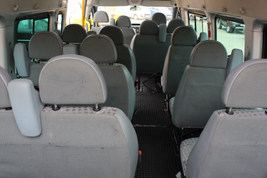 FORD TRANSIT 430 TDCI 135 HIGH ROOF 17 SEAT BUS - 5825 - 23
