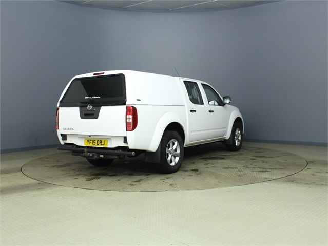 NISSAN NAVARA DCI 144 VISIA 4X4 DOUBLE CAB WITH TRUCKMAN TOP - 7405 - 2