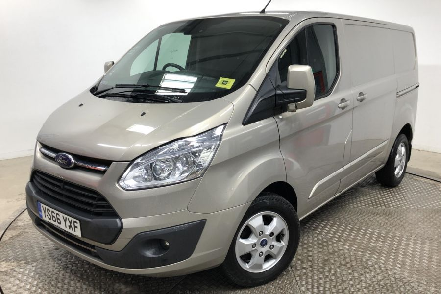 FORD TRANSIT CUSTOM 290 TDCI 170 L1H1 LIMITED SWB LOW ROOF FWD - 12194 - 8