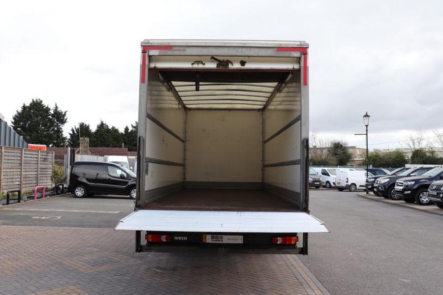IVECO EUROCARGO  75E16S 4X2 GRP BOX WITH TAIL LIFT  (13925) - 12206 - 38