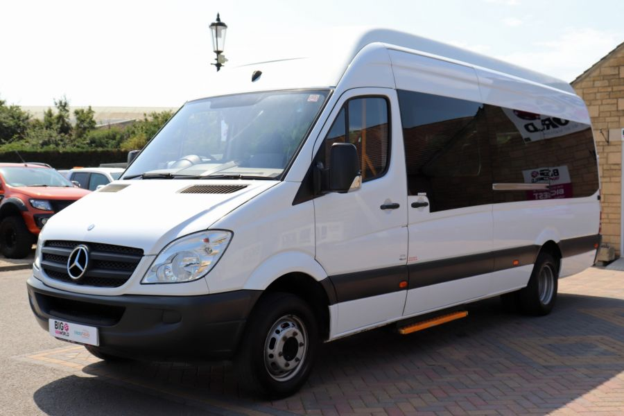 MERCEDES SPRINTER 513 CDI 129 XLWB EXTRA HIGH ROOF 15 SEAT BUS WITH WHEELCHAIR ACCESS - 9801 - 10