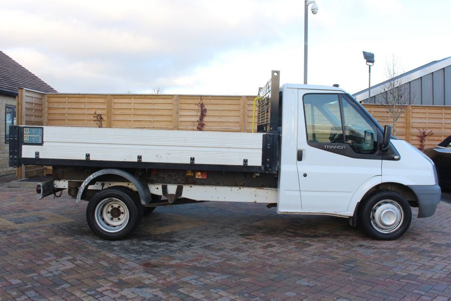 FORD TRANSIT 350 TDCI 100 MWB 'ONE STOP' ALLOY TIPPER DRW RWD - 6726 - 13