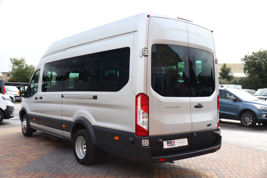FORD TRANSIT 460 TDCI 155 L4H3 TREND 17 SEAT BUS HIGH ROOF DRW RWD - 9897 - 7