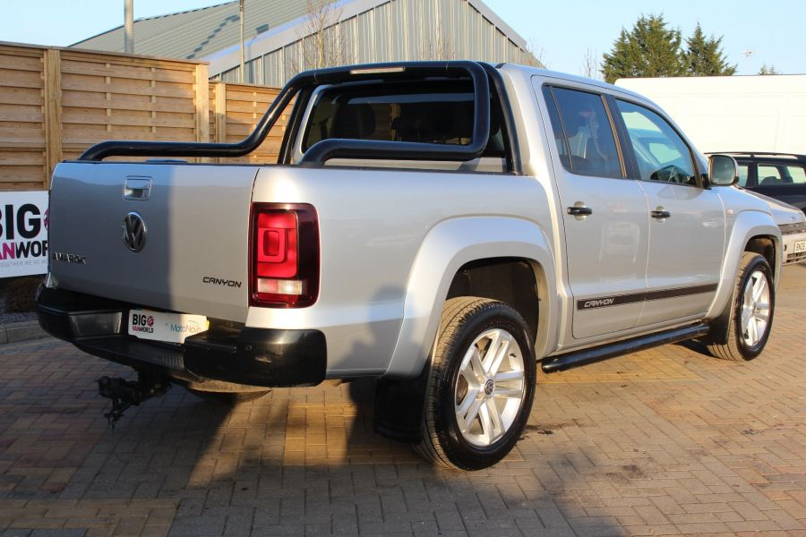 VOLKSWAGEN AMAROK TDI 180 CANYON 4MOTION DOUBLE CAB AUTO WITH ROLL'N'LOCK TOP - 7311 - 5