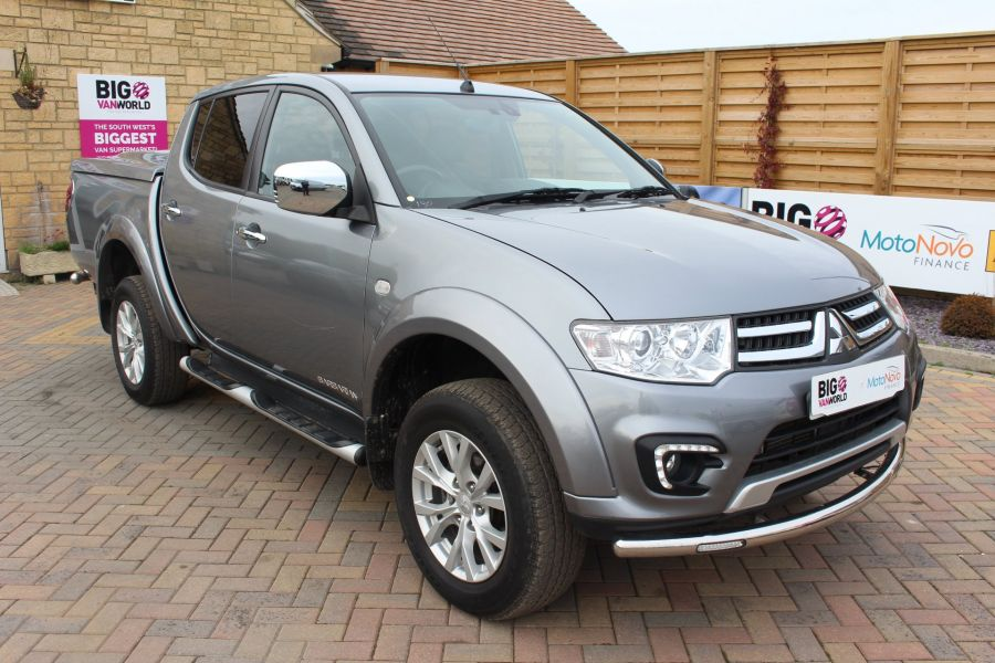 MITSUBISHI L200 DI-D 4X4 LWB BARBARIAN LB 175 BHP DOUBLE CAB WITH MOUNTAIN TOP  - 6724 - 3