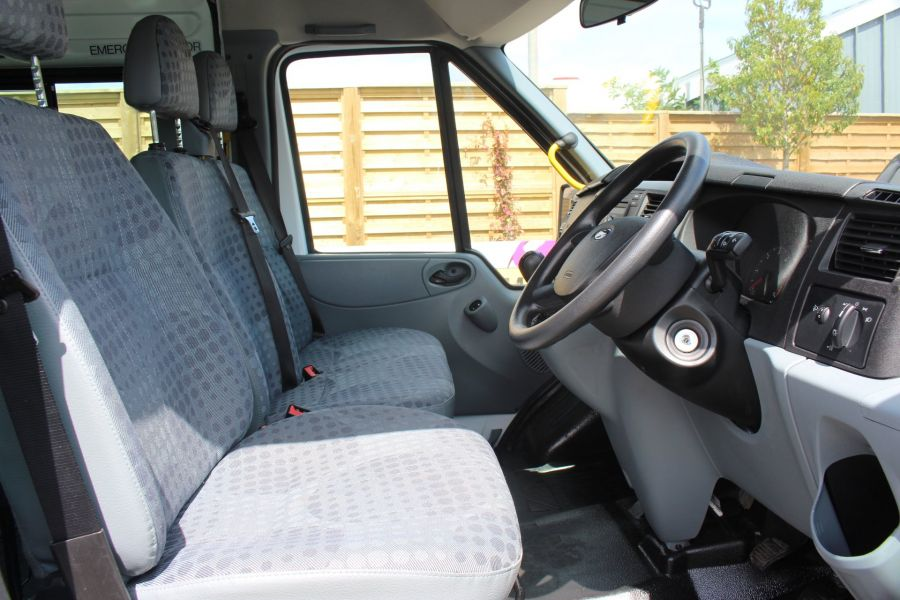 FORD TRANSIT 350 TDCI 135 LWB MEDIUM ROOF 14 SEAT BUS - 6413 - 11