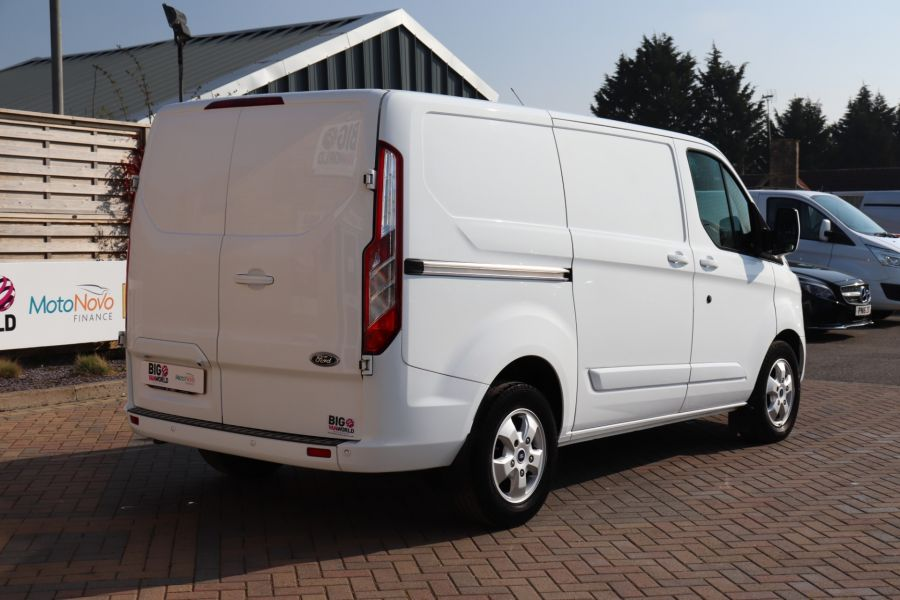 FORD TRANSIT CUSTOM 340 TDCI 130 L1H1 LIMITED SWB LOW ROOF FWD - 10566 - 6