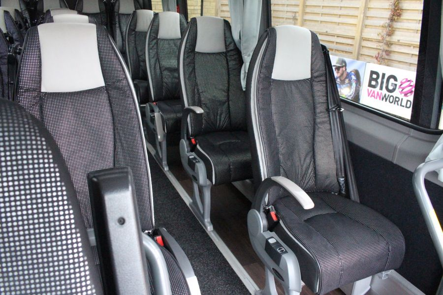 MERCEDES SPRINTER 516 TRAVEL 45 XLWB 16 SEAT SINGLE DECK COACH - 8762 - 16