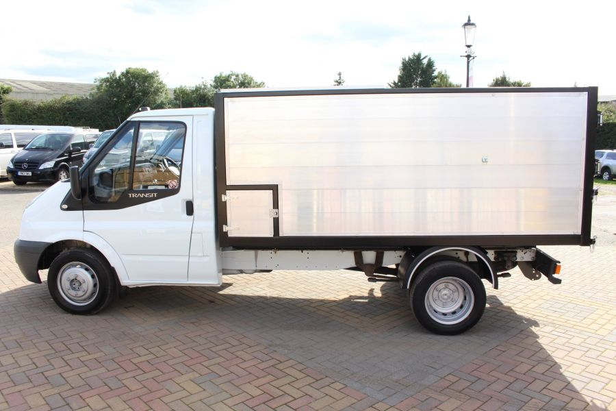 FORD TRANSIT 350 MWB SINGLE CAB HIGH SIDED ARBORIST ALLOY TIPPER - 6153 - 6