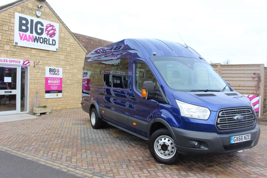 FORD TRANSIT 460 TDCI 125 TREND L4 HIGH ROOF 17 SEAT BUS - 8546 - 2