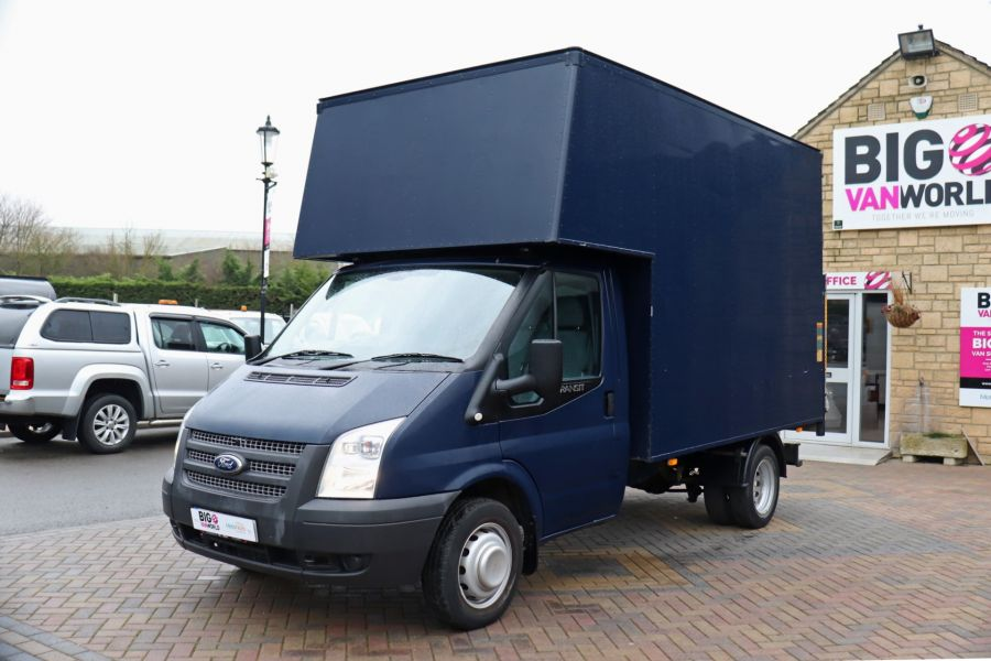 FORD TRANSIT 350 TDCI 100 MWB EXTRA HIGH LUTON BODY WITH TAIL LIFT DRW RWD - 10491 - 10