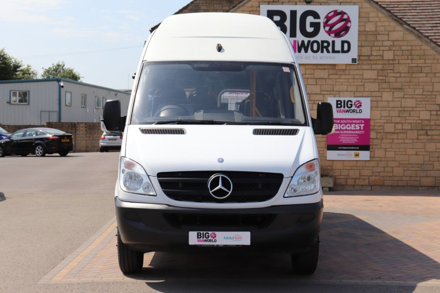 MERCEDES SPRINTER 513 CDI 129 XLWB EXTRA HIGH ROOF 15 SEAT BUS WITH WHEELCHAIR ACCESS - 9801 - 11
