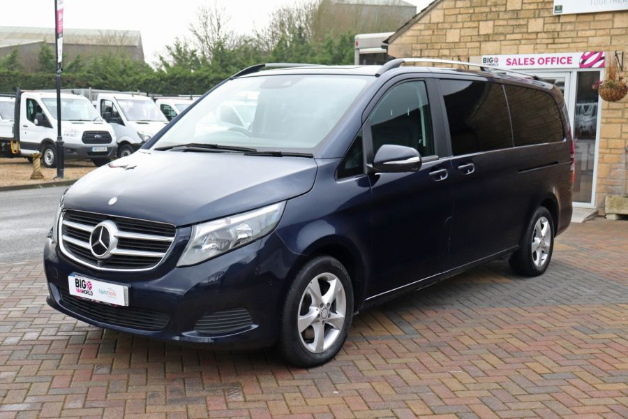 MERCEDES V-CLASS V250 CDI 188 BLUETEC SE 8 SEAT EXTRA LONG - 10420 - 10