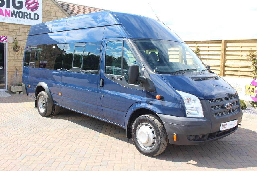 FORD TRANSIT 430 TDCI 135 LWB HIGH ROOF 17 SEATS BUS - 6332 - 2