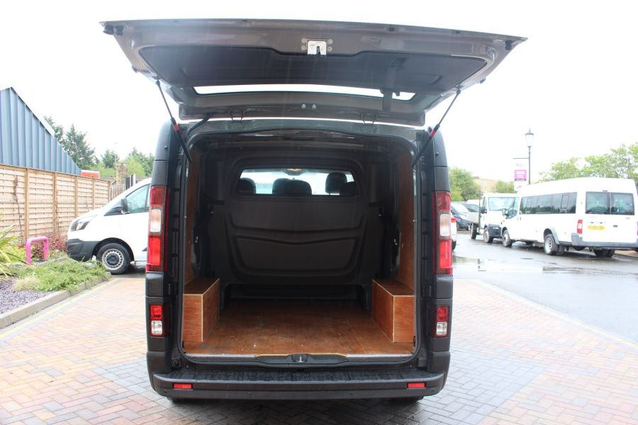 RENAULT TRAFIC SL27 DCI 115 BUSINESS DOUBLE CAB 6 SEAT CREW VAN SWB LOW ROOF - 8178 - 22