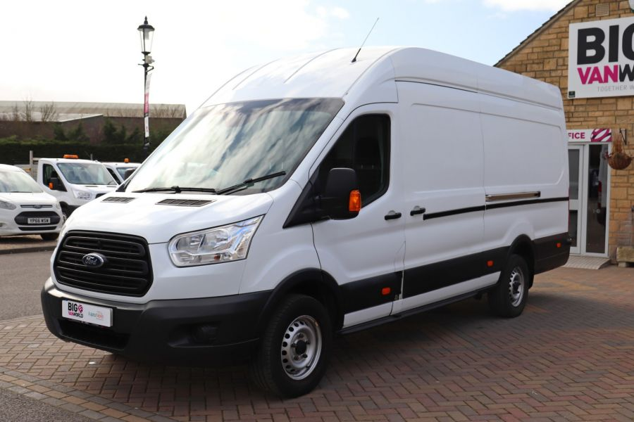 FORD TRANSIT 350 TDCI 125 L4H3 JUMBO HIGH ROOF RWD - 10472 - 10