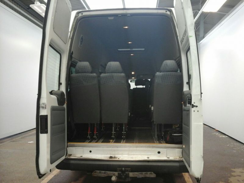 FORD TRANSIT 430 TDCI 135 EL LWB 17 SEAT BUS HIGH ROOF DRW RWD - 9665 - 4