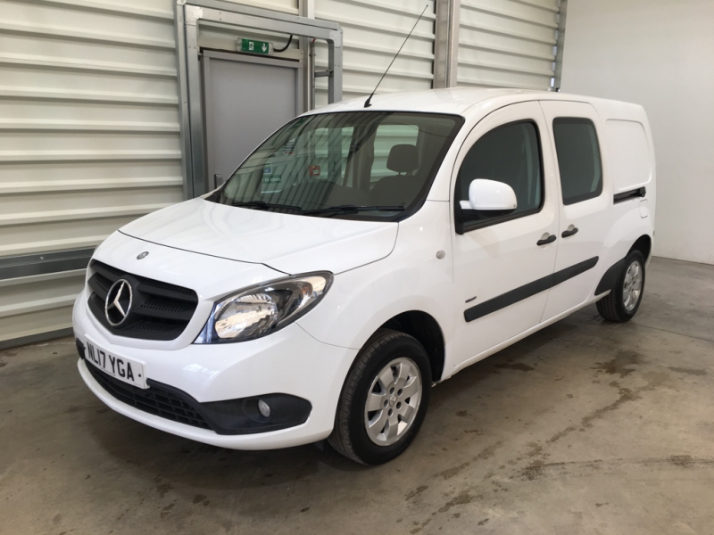 MERCEDES CITAN 109 CDI 90 BLUEEFFICIENCY DUALINER XLWB DOUBLE CAB 5 SEAT CREW VAN - 11253 - 8