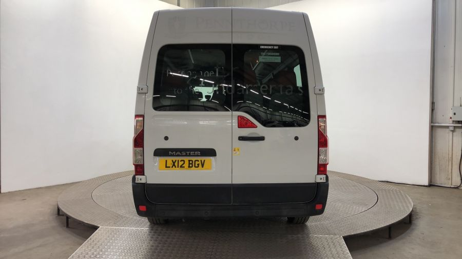 RENAULT MASTER LM39 DCI 125 LWB 17 SEAT BUS MEDIUM ROOF WITH OVERHEAD STORAGE - 11310 - 4