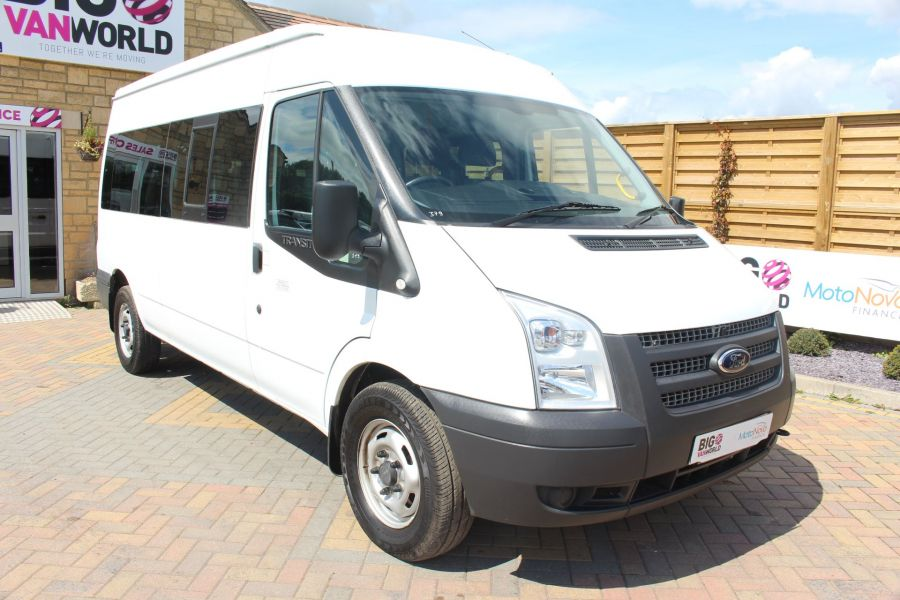 FORD TRANSIT 350 TDCI 135 LWB MEDIUM ROOF 14 SEAT BUS - 6413 - 3