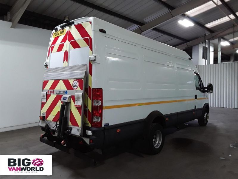 IVECO DAILY 70C17V 3.0 TD 170 LWB HIGH ROOF WITH TAIL LIFT  (14001) - 12250 - 3