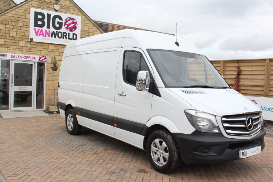 MERCEDES SPRINTER 313 CDI MWB HIGH ROOF - 7486 - 2